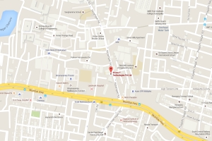 Hyderabad Office Map @ Rooftop Urja